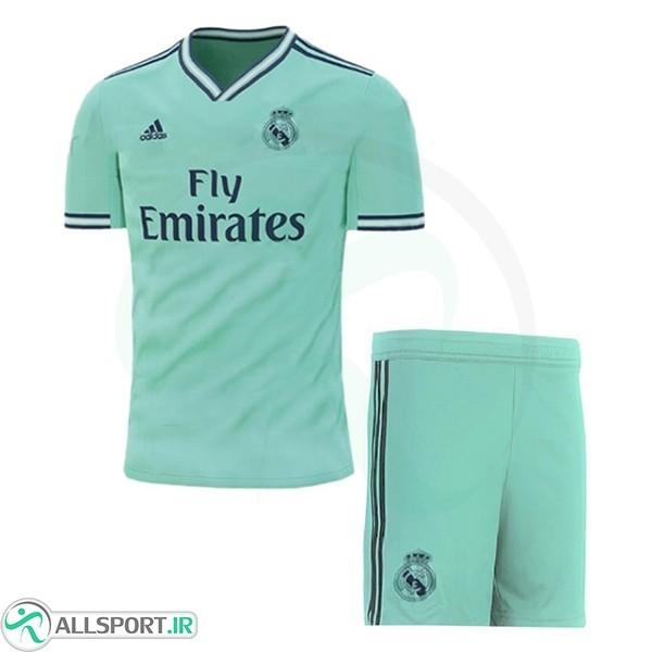 sports shoes 69e23 77f5d 2019 2019 20 Kit Sock Real Madrid Third Soccer Jersey Green ...