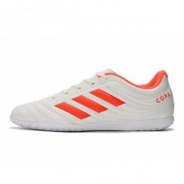 کفش فوتسال آدیداس کوپا طرح اصلی سفید قرمز Adidas Copa 19.4 IN White Solar Red