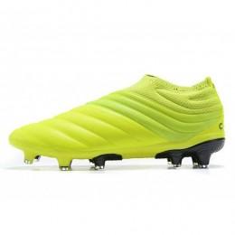 کفش فوتبال آدیداس کوپا طرح اصلی زرد Adidas Copa 19+ FG Yellow Core Black