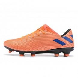 کفش فوتبال آدیداس نمزیز طرح اصلی نارنجی ابی Adidas Nemeziz 19.2 FG OrangeBlue