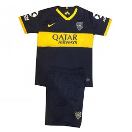 پیراهن شورت اول بوکاجونیورز Boca Junuors 2019-20 Home Soccer Jersey Kit Shirt+Short