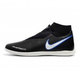 کفش فوتسال نایک فانتوم طرح اصلی مشکی سفید Nike Phantom Vision Academy DF IC Black Blue White