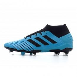 کفش فوتبال آدیداس پردیتور طرح اصلی ابی Adidas Predator 19.1 FG BlueDark Blue