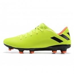 کفش فوتبال آدیداس نمزیز طرح اصلی زرد نارنجی Adidas Nemeziz 19.2 FG Yellow Black Orange