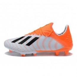 کفش فوتبال آدیداس ایکس طرح اصلی نارنجی مشکی Adidas X 19.3 FG White Black Orange