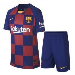 پیراهن شورت اول بارسلونا Barcelona 2019-20 Home Soccer Jersey Kit Shirt+Short