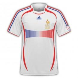 پیراهن کلاسیک فرانسه France 2006 Retro Home Kit Jersey