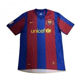 پیراهن کلاسیک بارسلونا Barcelona 2007 Retro Home Kit Jersey