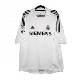 پیراهن کلاسیک رئال مادرید Real Madrid 2005 Retro Home Kit Jersey
