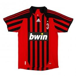 پیراهن کلاسیک میلان Ac Milan 2007 Retro Home Kit Jersey