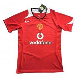 پیراهن کلاسیک منچستریونایتد Manchester United 2004 Retro Home Kit Jersey