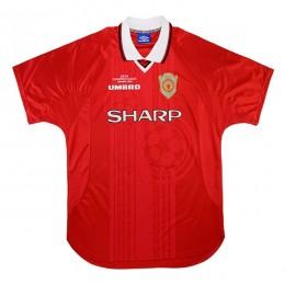 پیراهن کلاسیک منچستریونایتد Manchester United 1999 Retro Home Kit Jersey