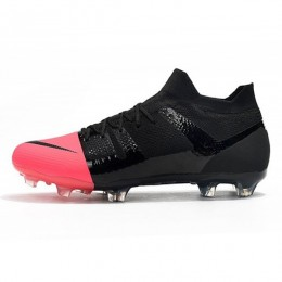 کفش فوتبال نایک مرکوریال طرح اصلی مشکی صورتی Nike Mercurial Greenspeed 360 FG Black Pink