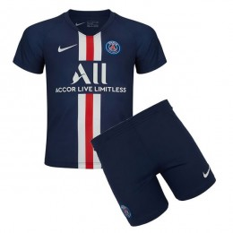 پیراهن شورت اول پاریسن ژرمن Paris Saint Germain 2019-20 Home Soccer Jersey Kit Shirt+Short
