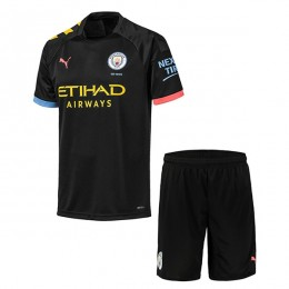 پیراهن شورت دوم منچسترسیتی Manchester City 2019-20 Away Soccer Jersey Kit Shirt+Short