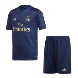 پیراهن شورت بچگانه دوم رئال مادرید Real Madrid 2019-20 Away Soccer Jersey Kids Shirt+Short