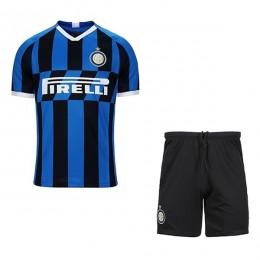 پیراهن شورت بچگانه اول ایترمیلان Inter Milan 2019-20 Home Soccer Jersey Kids Shirt+Short