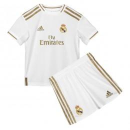 پیراهن شورت بچگانه اول رئال مادرید Real Madrid 2019-20 Home Soccer Jersey Kids Shirt+Short