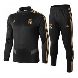 سوئیشرت شلوار رئال مادرید مشکی Real Madrid sweatshirt B 2019