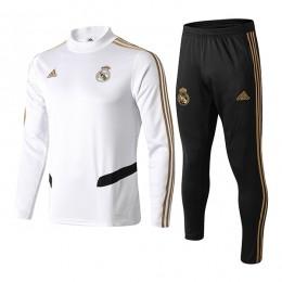 سوئیشرت شلوار رئال مادرید سفید Real Madrid sweatshirt w 2019