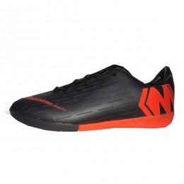 کفش فوتسال نایک مرکوریال طرح اصلی مشکی نارنجی Nike Mercurial 2019