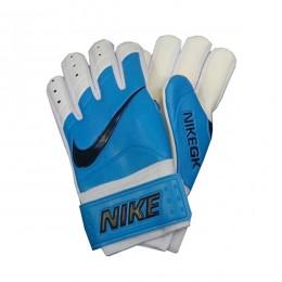 دستکش دروازه بانی نایک طرح اصلی آبی سفید Nike Goalkeeper Gloves