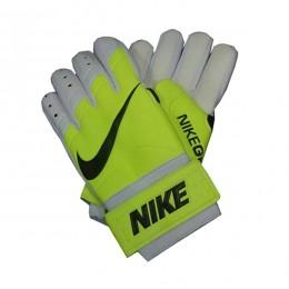 دستکش دروازه بانی نایک طرح اصلی فسفری سفید Nike Goalkeeper Gloves