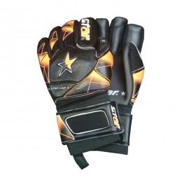 دستکش دروازه بانی استار طرح اصلی مشکی نارنجی Star Goalkeeper Gloves