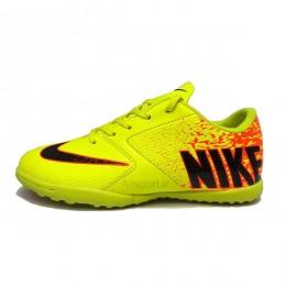 کفش چمن مصنوعی سایز کوچک نایک زرد نارنجی Nike