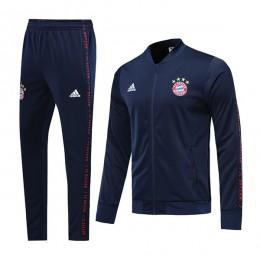 گرمکن شلوار بایرن سرمه ای Bayern Training Tracksuit 2019-20