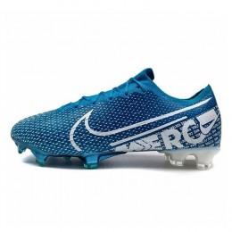 کفش فوتبال نایک مرکوریال طرح اصلی ابی Nike Mercurial Vapor XIII Elite FG Blue White
