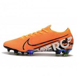 کفش فوتبال نایک مرکوریال طرح اصلی Nike Mercurial Vapor XIII Elite FG Orange White Black