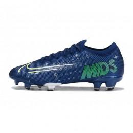 کفش فوتبال نایک مرکوریال طرح اصلی آبی Nike Dream Speed Mercurial Vapor XIII Elite FG Blue Void Volt White