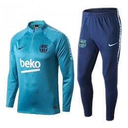 ست نیم زیپ شلوار بارسلونا Barcelona Training Tracksuit 2019-20
