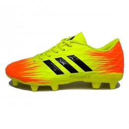 کفش فوتبال آدیداس سایز کوچک طرح اصلی زرد Adidas Yellow 2018