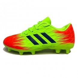 کفش فوتبال آدیداس سایز کوچک طرح اصلی فسفری Adidas 2018