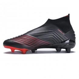 کفش فوتبال آدیداس پردیتور سایز کوچک طرح اصلی مشکی Adidas Predator 19+ FG Core BlackActive Re