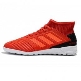 کفش فوتسال آدیداس پردیتور طرح اصلی قرمز مشکی Adidas Predator 19.3 IN Red Solar Red Core Black