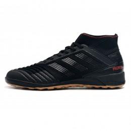 کفش فوتسال آدیداس پردیتور طرح اصلی مشکی Adidas Predator 19.3 IN Core Black Active Red Factory