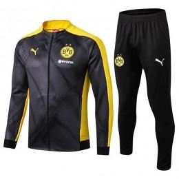 گرمکن شلوار دورتموند مشکی زرد Dortmund Training Tracksuit 2019-20