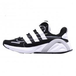 کتانی رانینگ مردانه آدیداس مشکی سفید Adidas Lxcon Yeezy Boost 600