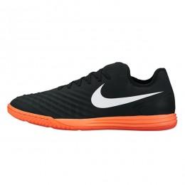 کفش فوتسال نایک مجیستا ایکس فاینال طرح اصلی مشکی سفید نارنجی Nike MagistaX Finale II IC Black White Orange