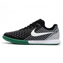 کفش فوتسال نایک مجیستا ایکس فاینال طرح اصلی سبز مشکی سفید Nike MagistaX Finale II IC Green Black White