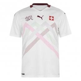 پیراهن دوم سوئیس Switzerland 2020 Euro Away Soccer Jersey