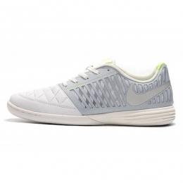 کفش فوتسال نایک لونار گتو طرح اصلی سفید زرد Nike Lunar Gato II IC White Yellow