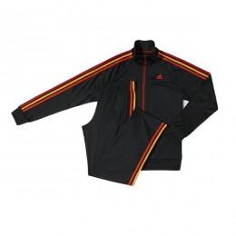 ست گرمکن و شلوار آدیداس اسنچالز 3 استرایپس پلی استر Adidas Essentials 3-Stripes Polyester Track Suit