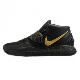 کفش بسکتبال نایک Nike Kyrie 6 Black Metallic Gold
