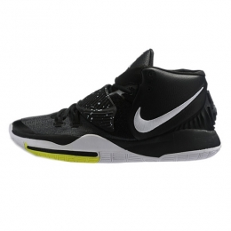 کفش بسکتبال نایک Nike Kyrie 6 Black White-Yellow