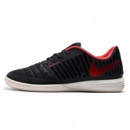 کفش فوتسال نایک لونار گتو Nike Lunar Gato II IC Black Red