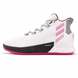 کفش بسکتبال آدیداس Adidas D Rose 9 Derrick White Pink Black